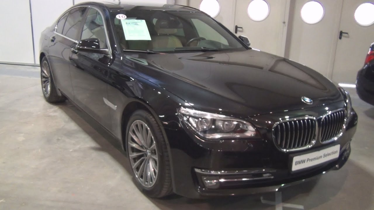 bmw 730d xdrive individual 2012 exterior and interior in 3d youtube. Black Bedroom Furniture Sets. Home Design Ideas