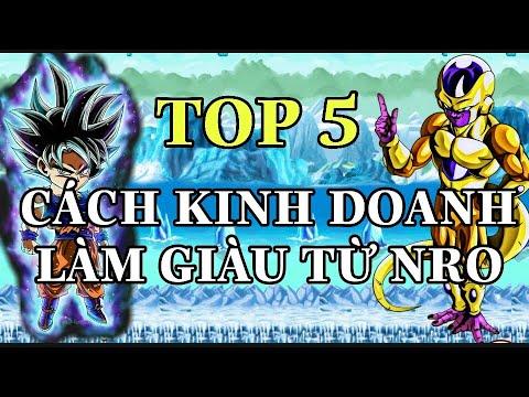 [ NRO ] TOP 5 CÁCH KINH DOANH LÀM GIÀU TỪ GAME NRO