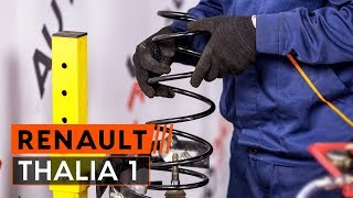 Opravit RENAULT THALIA sami - auto video průvodce