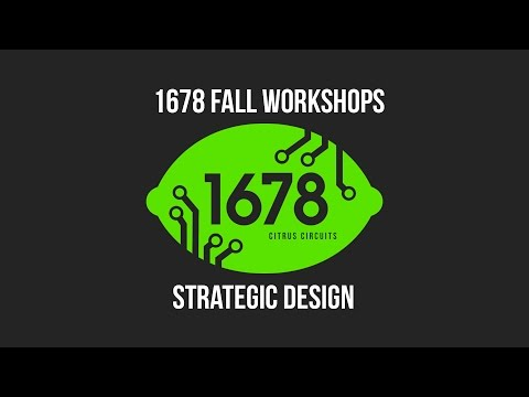 2016 Fall Workshops - Strategic Design