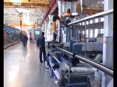 Производство кабелей с СПЭ изоляцией на напряжение 220-330 кВ (Production of XLPE insulated cables)