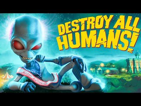 DESTROY ALL HUMANS REMAKE Walkthrough Gameplay Part 1 – INTRO (2020)
