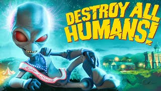DESTROY ALL HUMANS REMAKE Walkthrough Gameplay Part 1 - INTRO (2020)