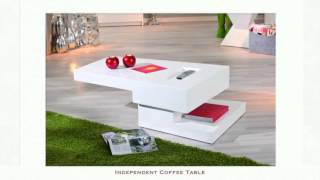 Summer Gloss Coffee Tables And Lamp Tables
