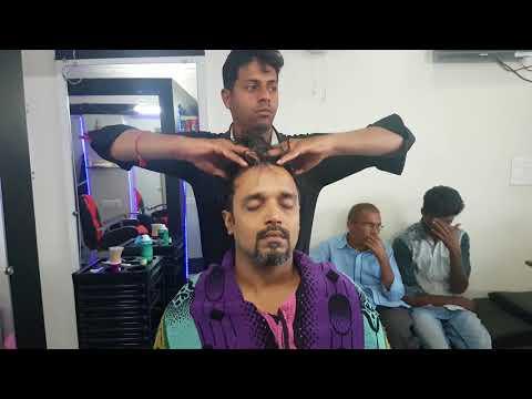 ASMR Guest Barber Head Massage