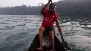 Fishing at Lake Barombi