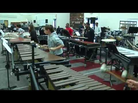 West High School, Knoxville, Tennessee Percussion Ensemble Rehearsal