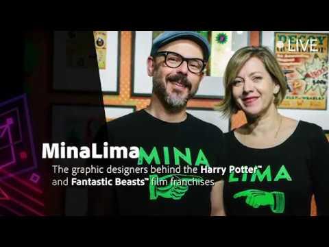 MinaLima, Harry Potter™ Graphic Design Duo - #AdobeCreativeMeetup 2018 | Adobe UK