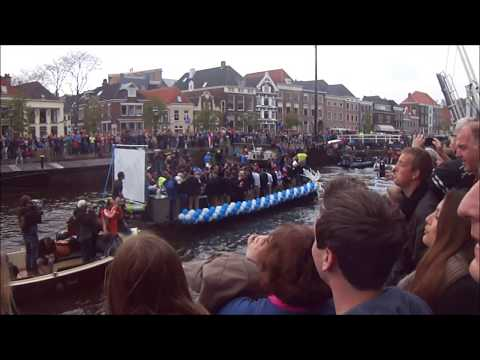 PEC Zwolle kampioen 2014 - Feest op Thorbeckegracht