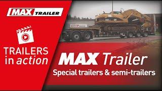 MAX Trailer - Special trailers & semi-trailers