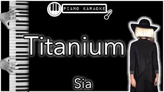 Titanium -  David Guetta ft. Sia - Piano Karaoke Instrumental
