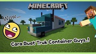 Minecraft: Cara Buat Truk Container..!! PC | PE