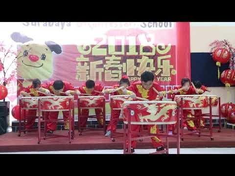 1  DRUM PERFORMANCE-SURABAYA MONTESSORI SCHOOL-20-02-2018