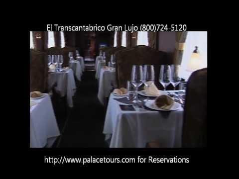El Transcantabrico Gran Lujo luxury train tour in Spain