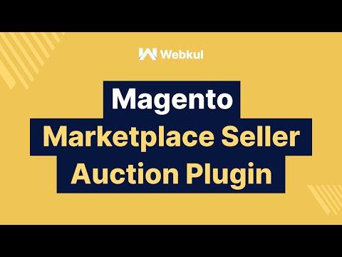 Magento Multi Vendor Marketplace Seller Auction Add-On - Vendor Management thumbnail