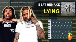 """How """"LYING"""" by Lil Baby & Lil Durk was made in 5 Minutes  