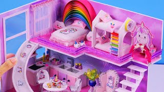 How to make a dollhouse. Today, i show DIY Miniature Dollhouse with...