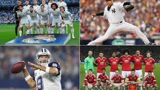 Top 10 Most Valuable Sports Teams in 2016 | Most Valuable Sports Franchise in the World