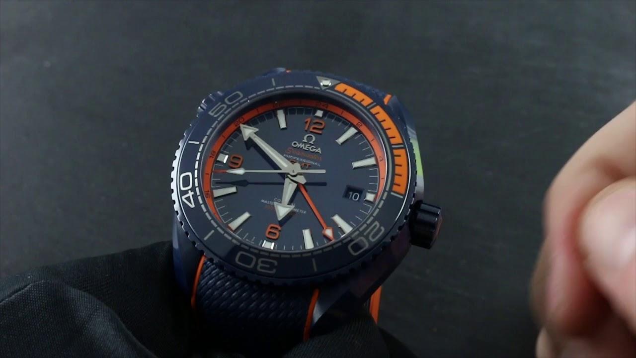 Omega Seamaster Professional Planet Ocean GMT
