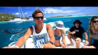 KYLE iSpy ft. Lil Yachty (Music )(Kitesurfing Union Island)