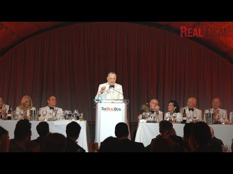 Highlights from The Real Deal's toast of CBRE's Stephen Siegel
