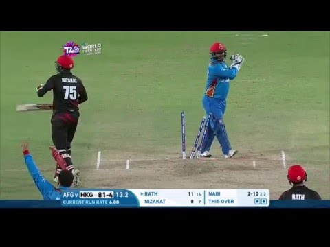 ICC #WT20 Hong Kong v Afghanistan Match Highlights
