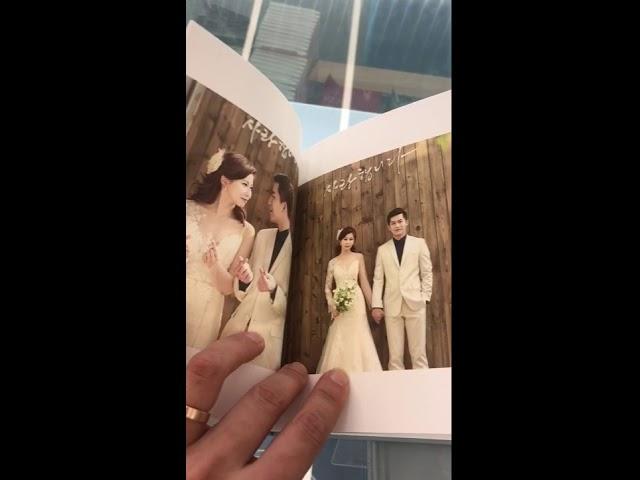 korea pre wedding - website renewal free albums