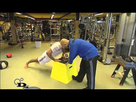Бадр Хари - силовая тренировка / Badr Hari - Strength Training