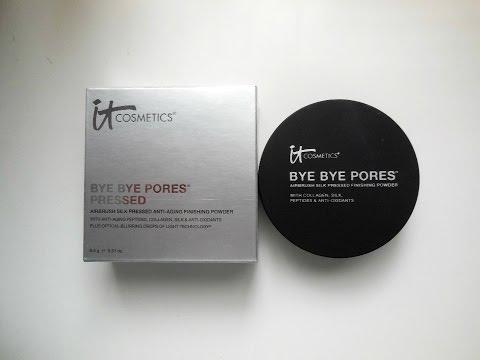 RAVE Review: IT Cosmetics Bye Bye Pores Pressed Powder!
