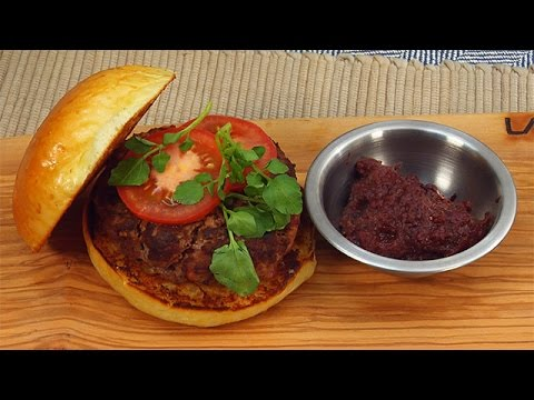 Adam Richman's Unbelievable Malbec Burger