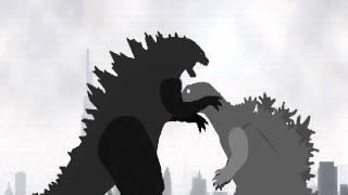 PDBA- the revival: Godzilla 2014 vs Godzilla 2001