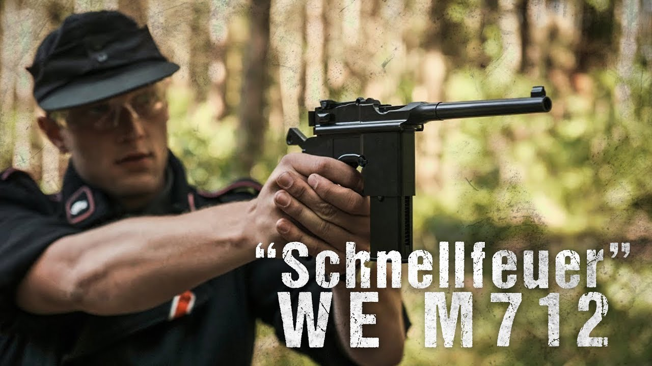 """WE M712 """"Schnellfeuer"""" 6mm GBB [Review] #1"""