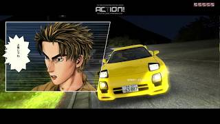 Initial D Arcade Stage 6 AA (PC gameplay)