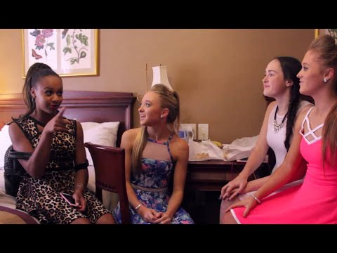 Nia Sioux & Rybka Twins | BTS High Strung Movie