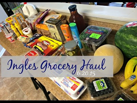 Ingles Grocery Haul | Coupon Deals & Grocery Store Etiquette | 6.20.15