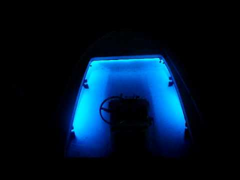 flo led boat lights under gunnel boat lighting youtube. Black Bedroom Furniture Sets. Home Design Ideas