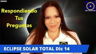 Eclipse Solar Total Respondiendo Sus Preguntas