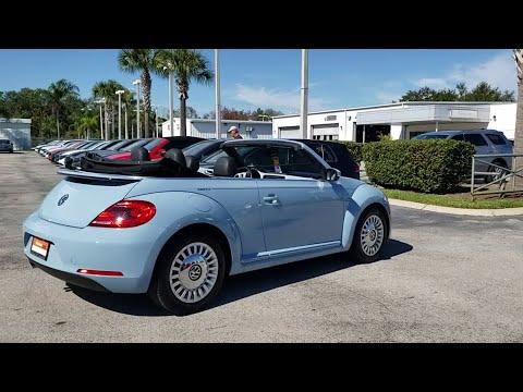 2015 Volkswagen Beetle Orlando, Sanford, Kissimme, Clermont, Winter Park, FL 4118A