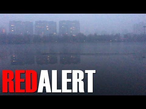 Beijing Air Pollution First Red Alert 2016 - Worst Days Ever