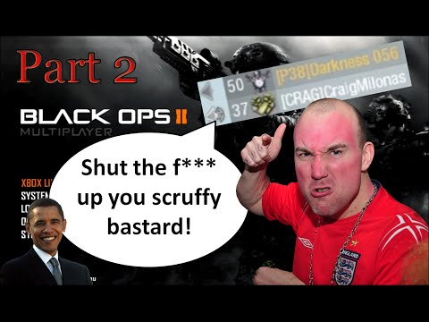 Angriest guy ever (guy in intro) Plays Black ops 2 Part 2 (Soundboard Gaming)