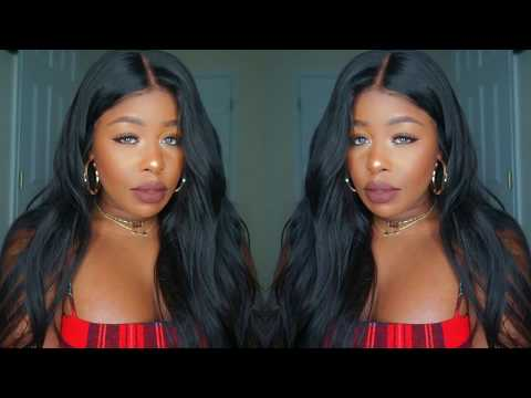 Sexy Bed hair 360 lace front ft. Chinalacewig.com
