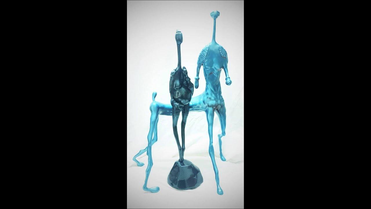 Epoxy Art Sculpture Of Modern