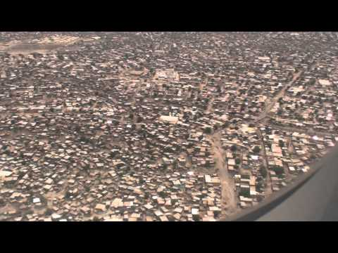Turkish Airlines  Landing Djibouti