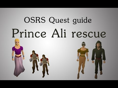 [OSRS] Prince Ali rescue quest guide
