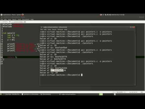 C Coding: Pointers