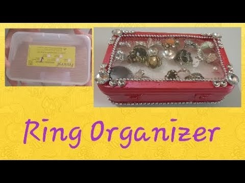 DIY Ring Display Organizer – Easy to make Jewellery Box – Wow DIY Crafts Inspirations😍