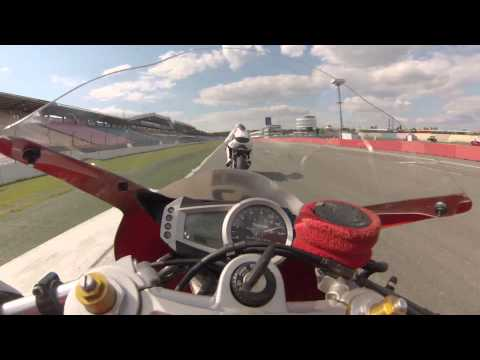 GoPro : Triumph Daytona  Hockenheim On Board