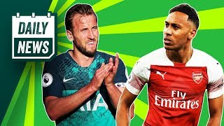Harry Kane Injury HORROR, Arsenal lose their star man + Henry v Vieira ► Onefootball Daily News