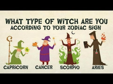 What Type Of Witch Are You According To Your Zodiac Sign ?