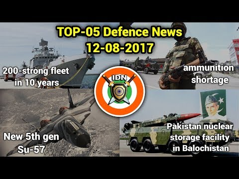TOP 5 defence news : 200-strong fleet in 10 years,Sukhoi Su-57,and more